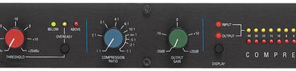 Leggendario compressore audio DbX 160A