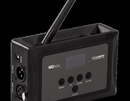 WDBOX trasmettitore & ricevitore DMX