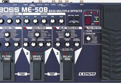 Pedaliera BOSS ME-50B per basso