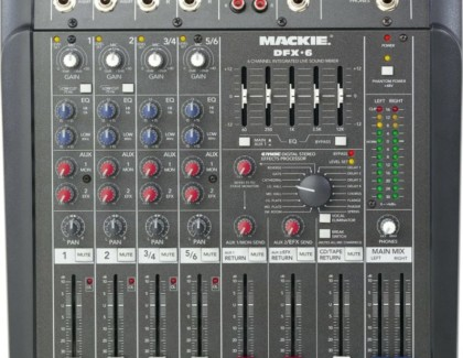 Mixer Mackie dfx6