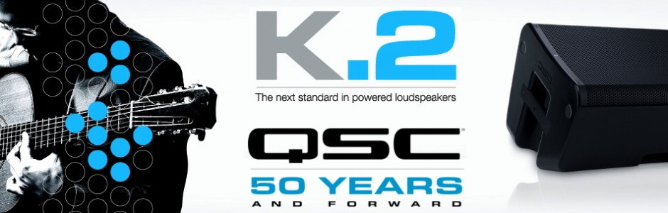 NEW!!   QSC K.2 SERIES™