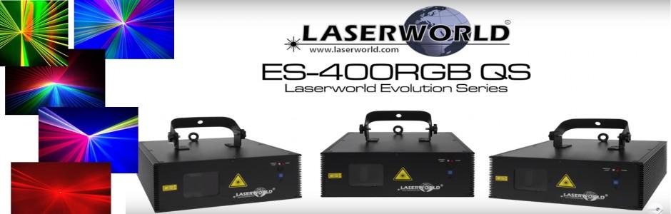 LASERWORLD ES-400 RGB QS