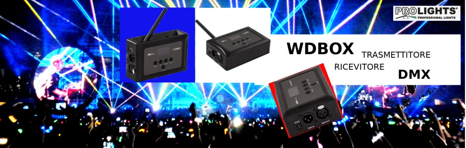 New!! WDBOX wireless DMX