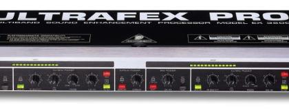 Processore Acustico BEHRINGER ULTRAFEX PRO EX3200