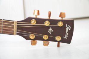 Chitarra AW28 Ibanez artwood Made in Japan, copia della D28 Martin. Molto bella.